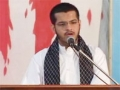 Tarana Recitation At Takreem-e-Shohada-e-Parachinar - Brother Sibtain - Urdu