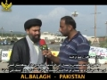 H.I. Ahmed Iqbal about Gilgit Situation & Dharna outside Parliament House, Islamabad - 09 April 12 - Urdu