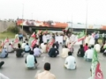 I.S.O and MOCI from Faizabad to Parliement House Dharna - Urdu