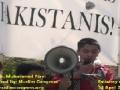 [5] Poetry by Br. Muhammad Rizvi - Protest @ Pakistan Embassy, Washington DC - 14Apr12 - English