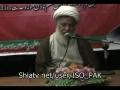 H.I. Ghulam Abbas Raisi - 13 April 2012 Almustafa house - Lahore - Urdu