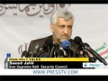 [17 May 2012] Tehran warns West ahead of Iran-P5+1 talks - English