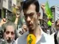 تظاهرات علیه بدحجابی در تهران Protests in Tehran against Improper Hijab - Farsi