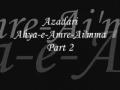 Azadari-Ahya-e-Amre-Aimma  Muharram1429 Ladies Majlis 2 Urdu