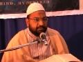 [8]Dars-e-Nahjul Balagha - Sermon No.1 - Moulana Taqi Agha Sahab - Urdu