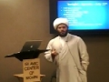 Part 1 - Sh. Hamza - Workshop Food and Drinks in the West - Ramadan 1433 - English