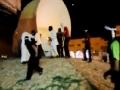 حصار الكيان السعودي للمتظاهرين بالرصاص - القطيف 26 يوليو Arabic
