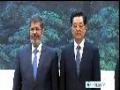 [28 Aug 2012] Egyptian President visits China - English