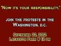 JOIN the PROTEST in WASHINGTON DC to defend the honor of Prophet Muhammad (s) on 22 SEP 2012 - All Languages