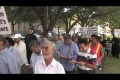 Anti-Blasphemy protest held in Houston Texas - English