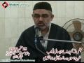 مجلس ترحیم برائے ایصال ثواب شہید علی رضا تقوی - H.I. Murtaza Zaidi - Urdu