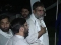 [06 Sept 2012] Protest Camp Night.4 - Azadari - Matam hey amanat Zainb de - Urdu