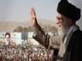 استقبال از رهبر معظم از مردم انقلابی خراسان رضوی - Farsi