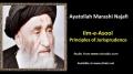 [ENGLISH] Principles of Jurisprudence - Excerpt from Ayatullah Marashi Najafi Speech - English