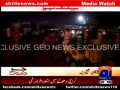 [Media Watch] Blast at Orangi Town 5 Number in Karachi During Majlis-e Aza - 21 Nov 2012 - Geo TV - Urdu