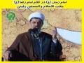 Imam Raza[as] talking about Imam Zaman[atfs] - By Agha Rafee - Farsi