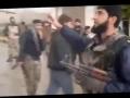 Saudi-USA-israeli backed Takfiri Terrorists burning Shia Mosque in Syria - Arabic