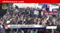[Karachi Dharna] Day 2 - sit-in Protest at Numaesh Square - 15 December 2012 - Urdu