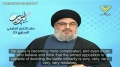 Hezbollah Leader Sayyed Nasrallah Directs a Message to Al-Qaeda in Syria - Arabic sub English