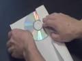 How To Make a CD or DVD Case Out Of a Piece Of Paper - English