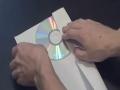 How To Make a CD or DVD Case Out Of a Piece Of Paper - English