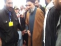 [3rd Feb 2013 - Clips] Istiqbal of Ustad Syed Jawad Naqavi before his Speech - Urdu