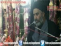 8th Muharum 1434 Majlis Moulana Shafqat Ali Naqvi Imam Bargah Aleymohammed - Urdu