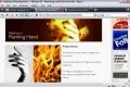GIMP - Human Torch Effect a Flaming Hand - English
