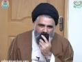 Telephonic Speech to Khanwaada-e-Shohada Saneha-e-Quetta from Lahore - 18 February 2013 - Ustad Syed Jawad Naqavi - Urdu