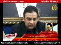 [Media Watch] Internview H.I. Hasan Zafar Naqvi - Abbas Town Blast - 6 March 2013 - Urdu