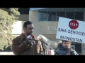 [Calgary – Protest Shia Genocide] Speech By Br. Hussain Zaidi - English