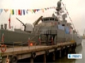 [18 Mar 2013] Iran defense ministry unveils new destroyer Jamaran II - English