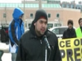 Toronto Protest For Sibte Jafar- Br. Kamran Rizvi Reciting Noha 23Mar2013 - English