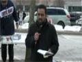 Toronto Protest For Sibte Jafar- Br. Alamdar Reciting Noha 23Mar2013 - English