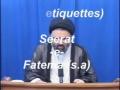 Adab - Seerate Fatema (s.a) - Ustad Syed Jawad Naqavi - Urdu