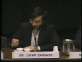1989- Debate Panel on Israel, Zafar Bangash, Norman Finkelstein and Wolf Blitzer Part 6 - English