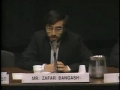 1989-Debate Panel on Israel, Zafar Bangush, Norman Finkelstein and Wolf Blitzer Part 4 - English