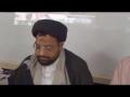 PROTEST CONFERENCE - 1st Rajjab 1434 A.H - Moulana Taqi Agha - Urdu