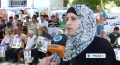 [09 July 13] Protest in West Bank in support of hunger striking prisoners - English