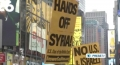 [11 July 13] Americans rally against government war plans in Middle East - English