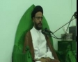 [08][Ramadhan 1434] H.I. Zaki Baqeri - Quran and clash of civilizations - 17 July 2013 - Urdu
