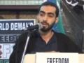 [AL-QUDS 2013] International Quds Conference - Hyderabad, India - Moulana Mohd Hasan Ibrahimi -  Urdu