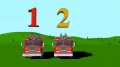 Number Counting Firetrucks - Learning for Kids - English