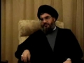 A Dialogue with Sayyed Hasan Nasrallah - Part 3 - Arabic