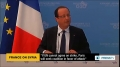 [06 Sept 2013] Hollande: Any strike on Syria will not be aimed at toppling Assad - English