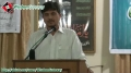 [Tanzeemi o Tarbiayati Convention] Speech Br. Nisar Faizi - 7 April 2013 - Urdu