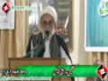 [Tanzeemi o Tarbiayati Convention] Speech H.I Haider Ali Jawadi - 7 April 2013 - Urdu