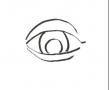 GIMP - Quick-draw an eye - English
