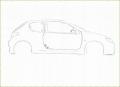 GIMP - Peugeot 206 Speed Draw - English