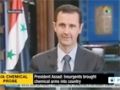 [25 Sept 2013] Assad: Insurgents chemical arms caches, labs uncovered - English